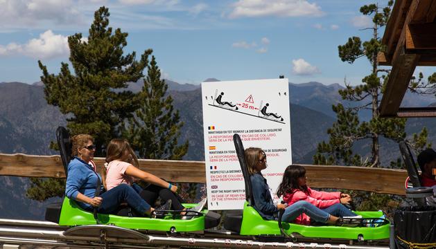 El Tobotronc és l'atracció amb més visitants del parc lauredià