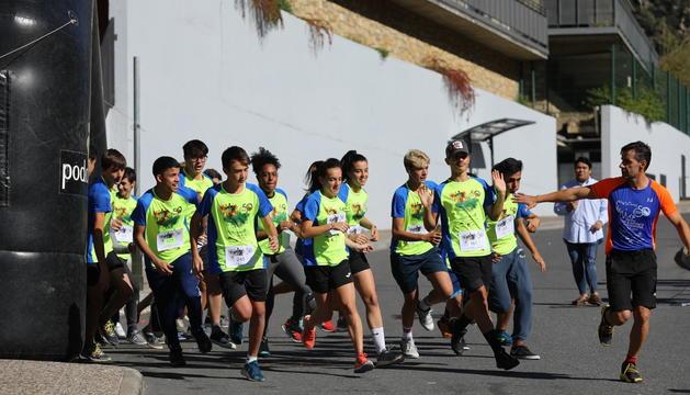 Els alumnes han fet un recorregut circular de 3,5 quilòmetres