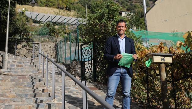 David Astrié ha presentat avui les noves bosses biodegradables