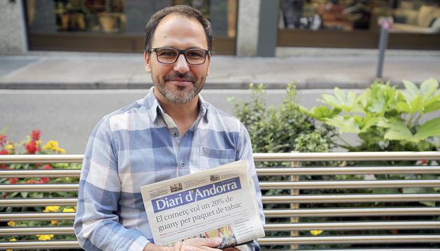 El psicòleg català, instal·lat a Andorra des de principis d'any.