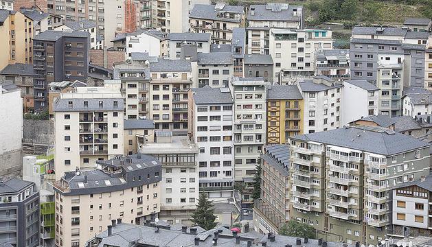 Panoràmica de pisos a Sant Julià de Lòria.