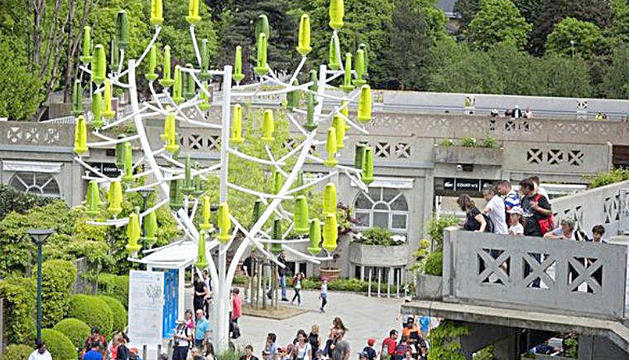 L'arbre de vent, la darrera proposta guanyadora.