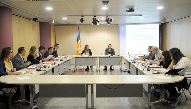 La Comissió nacional de prevenció de violència de gènere