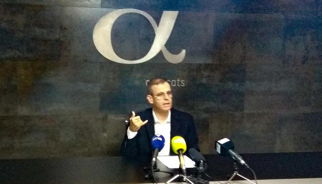Silvestre ha comparegut avui per parlar de les causes judicials que té obertes