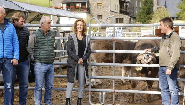 Celebració dels 20 anys de la creació de Ramaders d'Andorra a l'explotació ramadera d'Arans