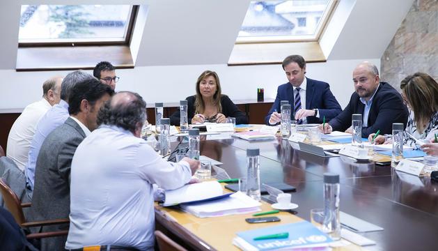 Reunió de cònsols al comú d'Andorra la Vella