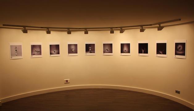 L'exposició fotogràfica al centre de congressos.