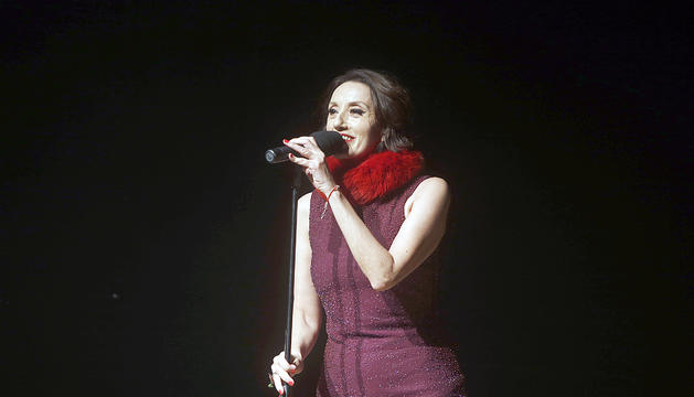 Luz Casal, al 2014 a l'Auditori Nacional, al festival Narciso Yepes.