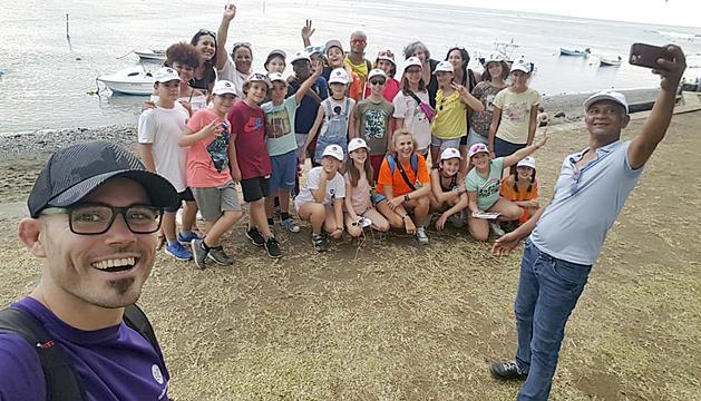 Els infants a l'Illa de la Reunió