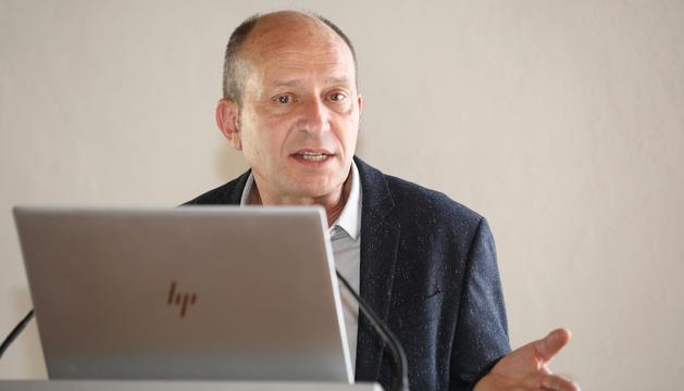 Xavier Llovera, que acaba de prendre les regnes de Patrimoni Cultural.