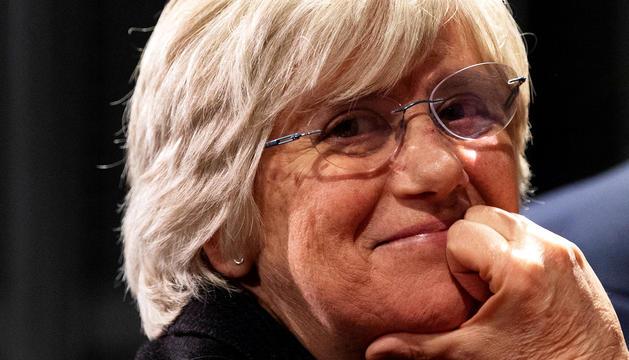 L'ex-consellera catalana d'Educació Clara Ponsatí.