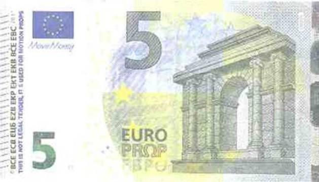 Els bitllets que més circulen són els de 5 i 10 euros