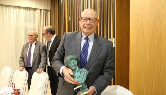 Brustenga, el guanyador del Fiter i Rossell, que l'any passat es va endur el de novel·la curta.