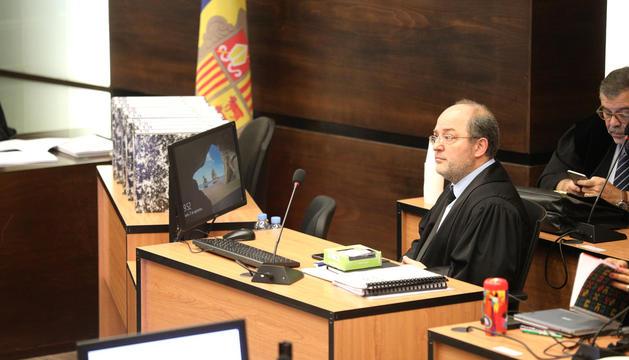 El fiscal general en el judici del 'cas BPA'.