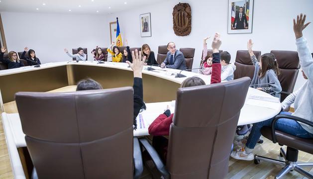 La constitució del Consell d'Infants