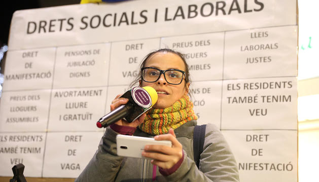 L'associació feminista defensa la seva posició a la comissió de l'ONU.
