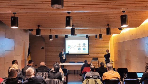 Presentació del projecte de cogeneració i xarxa de calor que FEDA desenvoluparà al Pas de la Casa