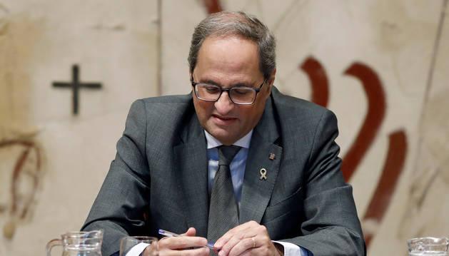 El president català, Quim Torra, en una imatge recent.