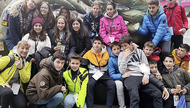 Els alumnes de 1r i 2n d'ESO del Col·legi Mare Janer, Sant Ermengol i Sagrada Família d'Andorra i de La Salle de La Seu d'Urgell van gaudir del Festival Canòlich Music