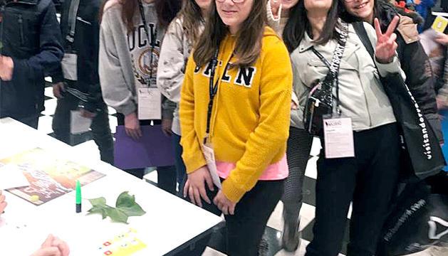 Els alumnes de primer i segon d'ESO de l'escola Sagrada Família estaven desitjosos de dur a terme totes les activitats del Festival Canòlich