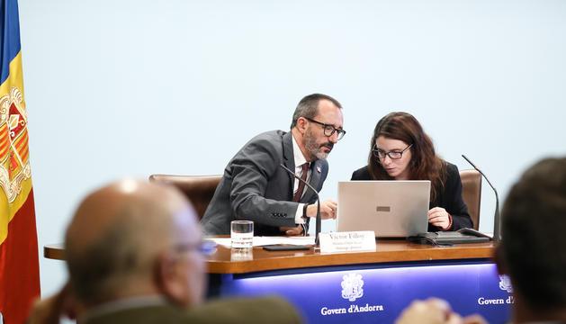 Víctor Filloy i Mireia Porras han presentat les dades aquest matí
