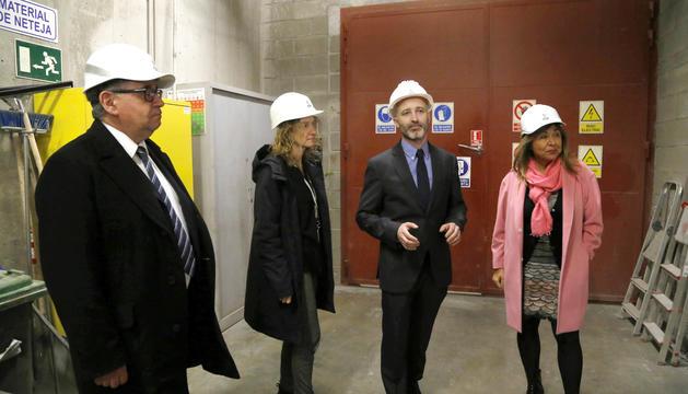 Moles, Calvó, Travé i Marsol han visitat les instal·lacions del Centre de Tractament de Residus aquesta tarda