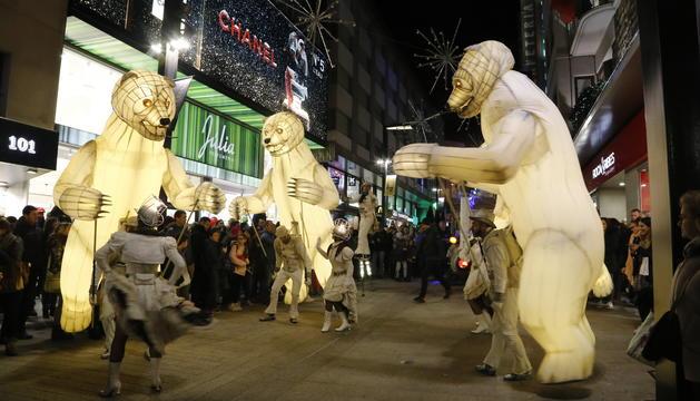 L'espectacle itinerant que ha baixat pels carrers d'Andorra