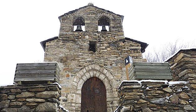 l'església de Sant Miquel de Prats.