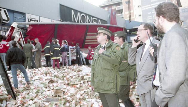 El cap de Govern en funcions, Òscar Ribas, va dirigir tot el dispositiu que es va muntar poc després de les 16.00 hores de la tarda quan va tenir lloc la tragèdia.