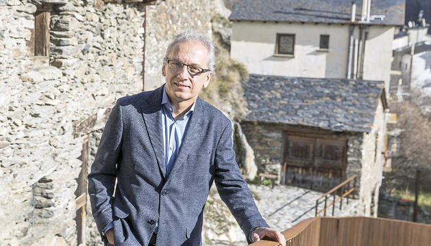 El candidat de DA+Independents, Francesc Camp.