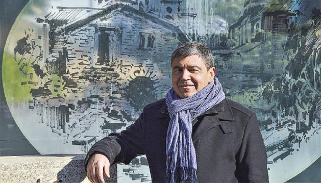 El candidat d'Objectiu Comú (OC), Albert Torres