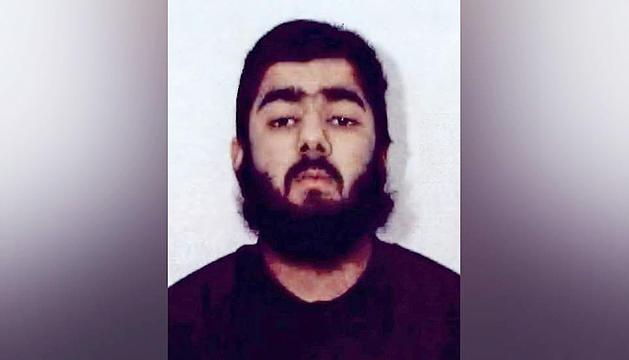 Imatge de Usman Khan difosa per la policia britànica.