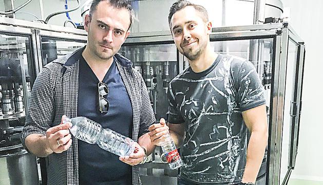 Els empresaris Ilya Rouss i Anton Yarashuk.