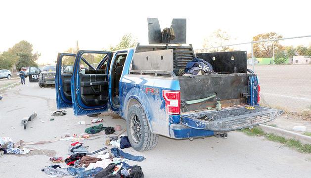 Un dels vehicles implicats en el tiroteig