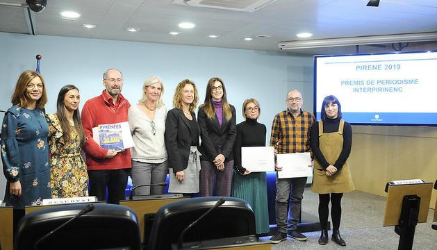 Lliurament dels Premis Pirene en la seva 24a edició