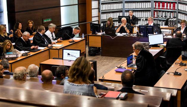 Un moment de la vista oral del judici del 'cas Gao Ping'.