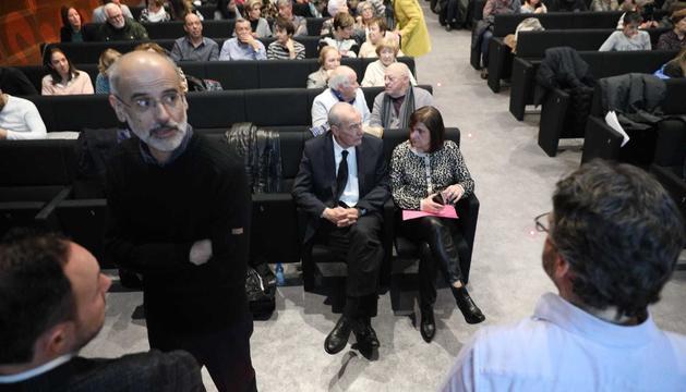 Els candidats del partit demòcrata per Escaldes-Engordany amb Toni Martí i Xavier Espot