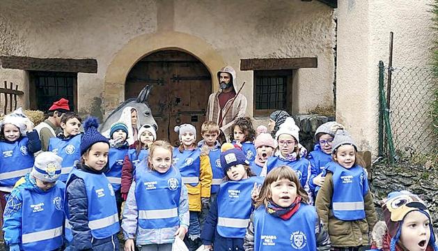 Infantil I4 i I5 de Mare Janer al Pessebre de Canillo