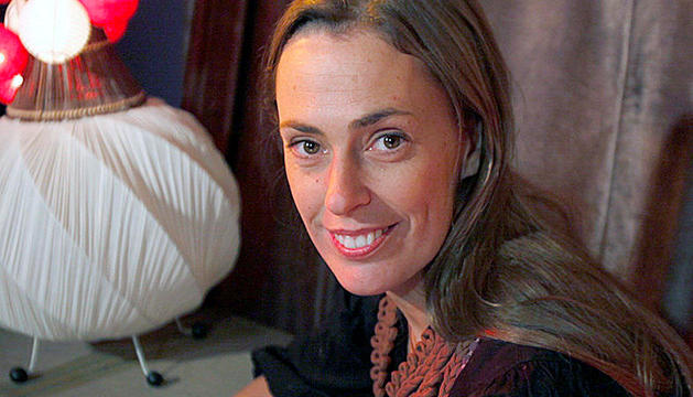 La directora d'art andorrana Sylvia Steinbrecht.