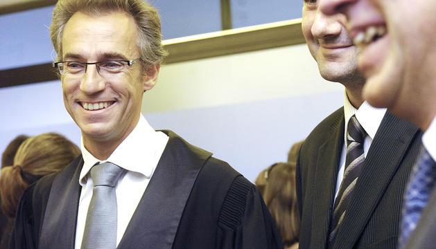 El jutge andorrà a Estrasburg, Pere Pastor.