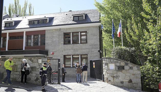 La seu de l'ambaixada francesa a Andorra la Vella