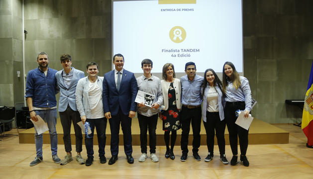 Els guanyadors de la quarta edició del projecte Tàndem han presentat l'aplicació