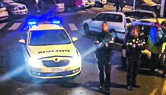 Captura del vídeo enregistrat al Pas de la Casa.