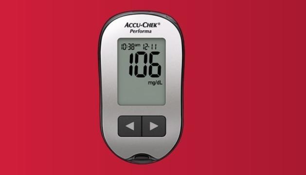 L'aparell Accu-Check Performa, un dels models afectats