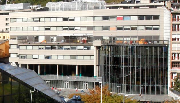 El centre escolar ubicat a Escaldes-Engordany.
