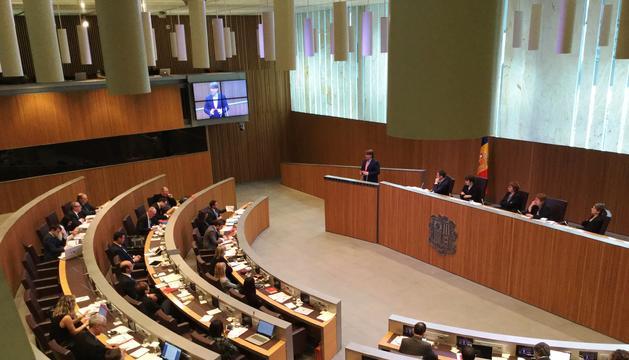 El debat al Consell General