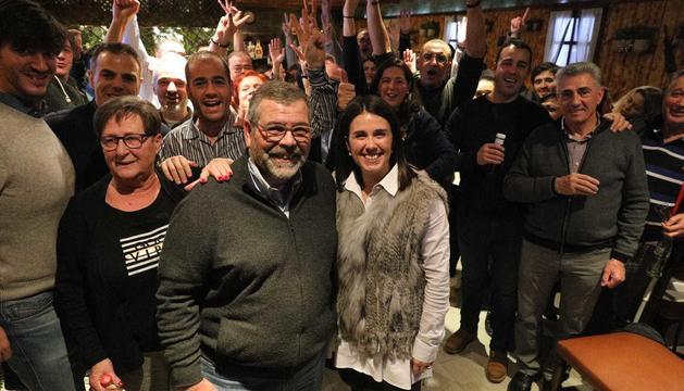 La celebració de Laura Mas, la primera dona cònsol major d'Encamp