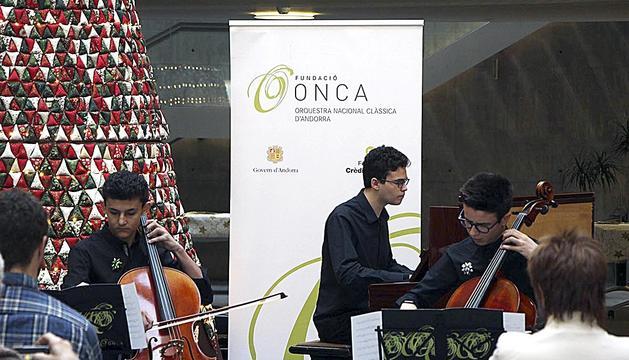 Concert de Nadal de joves músics al Consell General