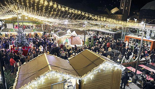 El Poblet de Nadal diumenge a la nit.