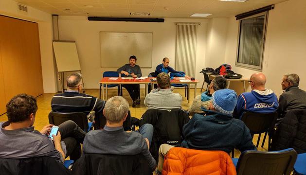 Reunió de sindicats de professors d'esquí
